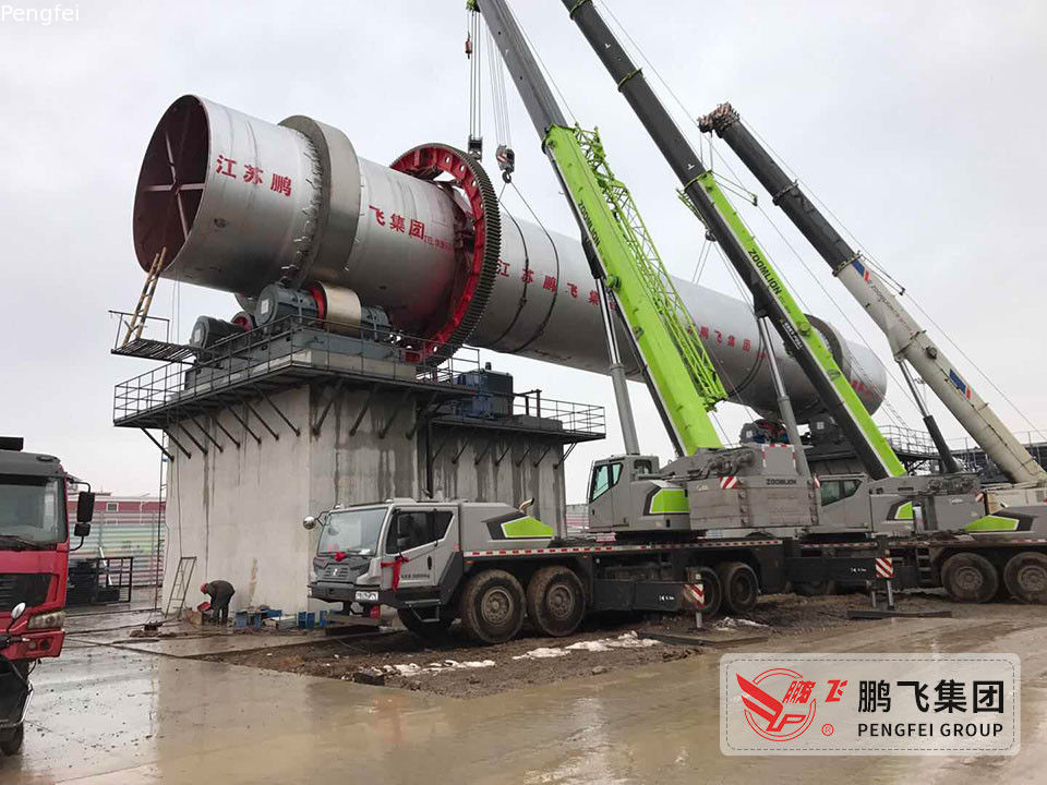 Pengfei 400tpd Active Lime Calcination Rotary Kiln